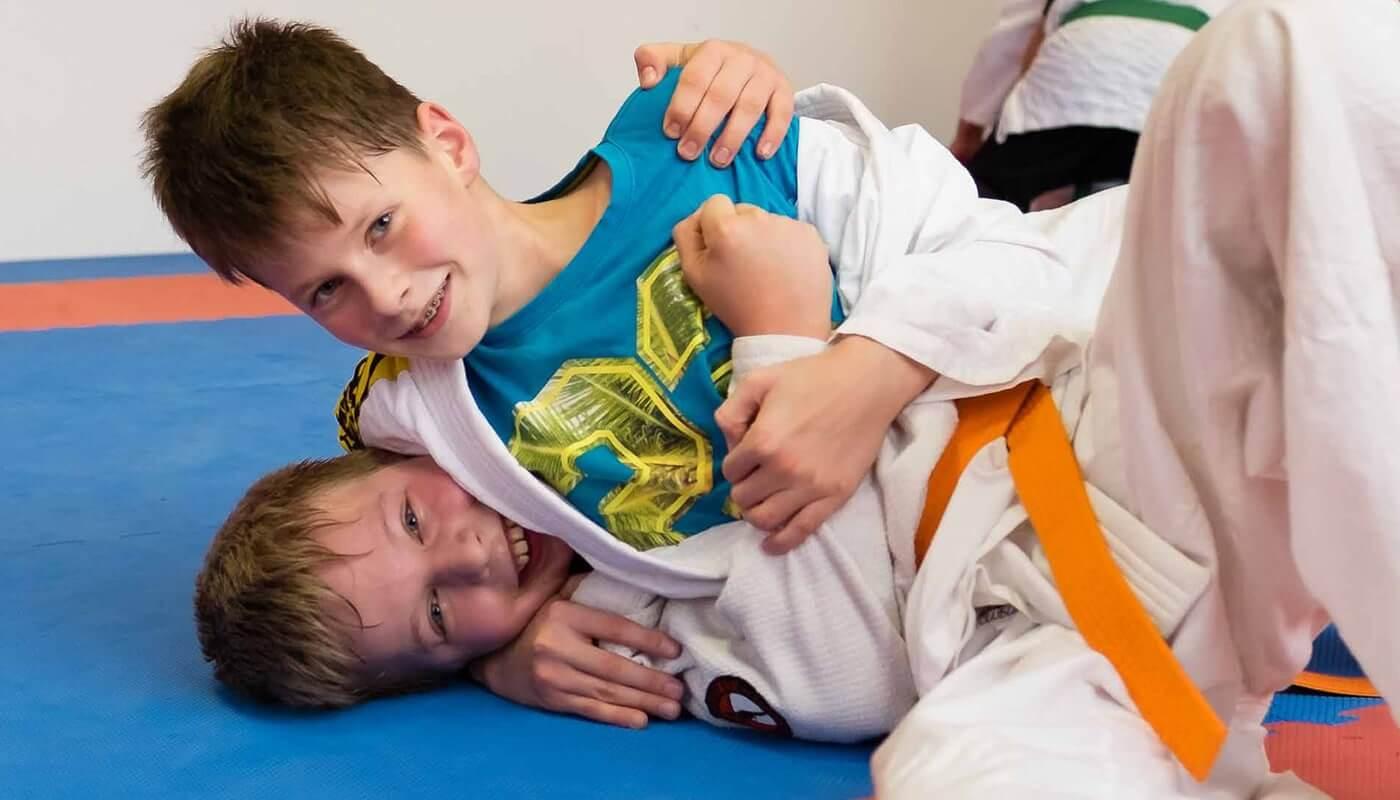 Kinder Jiu-Jitsu